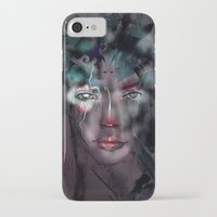 fairy iPhone & iPod Cases featuring fairy by Irmak Akcadogan