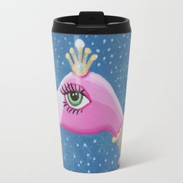 The Charming and Gracious Francie Flamingo Travel Mug