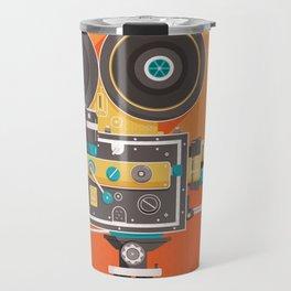 Cine: Orange Travel Mug