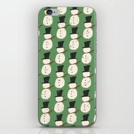 Jolly Green Snowguys iPhone Skin