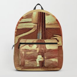 Pamela Storch on Double Bass Backpack
