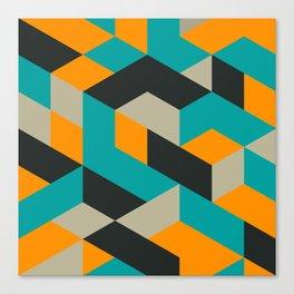 Tri V Canvas Print