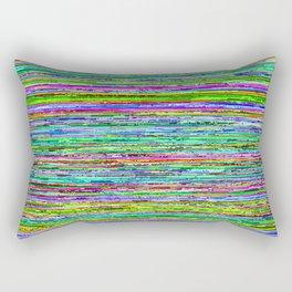 Databent Noise Rectangular Pillow