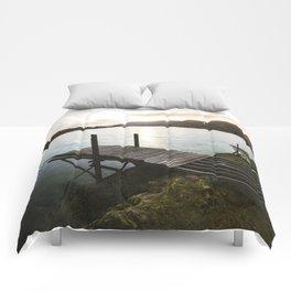 Salmon Sunrise Comforters