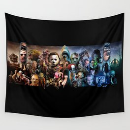 Classic Horror Movies Wall Tapestry