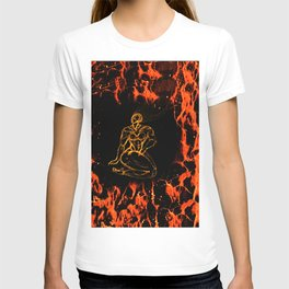 Breathing in Red Fire T-shirt