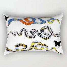 STACK OF SNAKES Rectangular Pillow