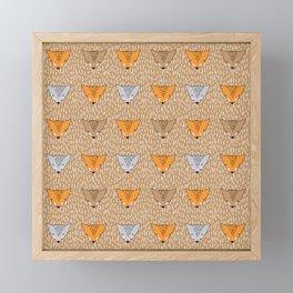 Shaggy faces Framed Mini Art Print