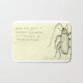 Relationship Cockroach Bath Mat