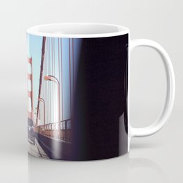 From the Backseat, Driving Across the Golden Gate Coffee Mug