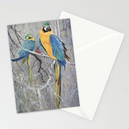 Kuhnert, Friedrich Wilhelm (1865-1926) - Wild Life of the World 1916 v.2 (Blue Macaw) Stationery Cards