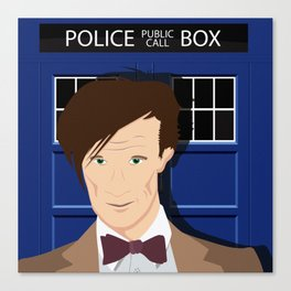 Doctor Who - Matt Smith Canvas Print