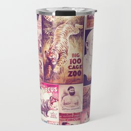 Circus Collage 2 Travel Mug