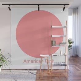American Pink Wall Mural