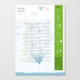Bureau Oberhaeuser Calendar 2014 White Canvas Print