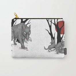 Four Arms - Wolf & Pups Carry-All Pouch