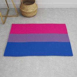 Bisexual Pride Flag Rug