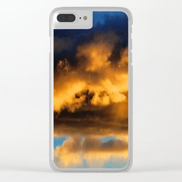 Sunset #182 Clear iPhone Case