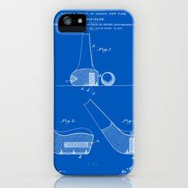 Golf Club Patent - Blueprint iPhone Case
