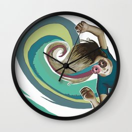 Donut try to understand (the wave) Wall Clock