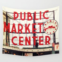Market Day Wall Tapestry