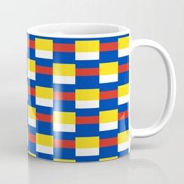 Mix of flag:  Russia and ukraine Coffee Mug