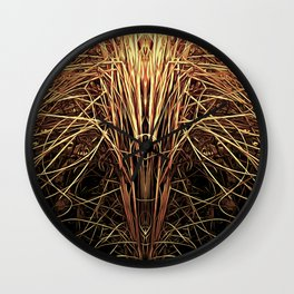 Essence of Gold Wall Clock