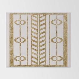 Art deco design III Throw Blanket
