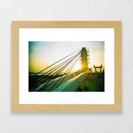 Sunset Dr Framed Art Print