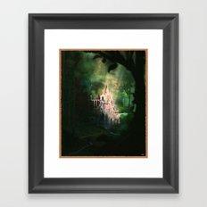 Mysterious Castle Framed Art Print