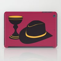 indiana jones iPad Cases featuring Indiana Jones and the Last Crusade by FilmsQuiz