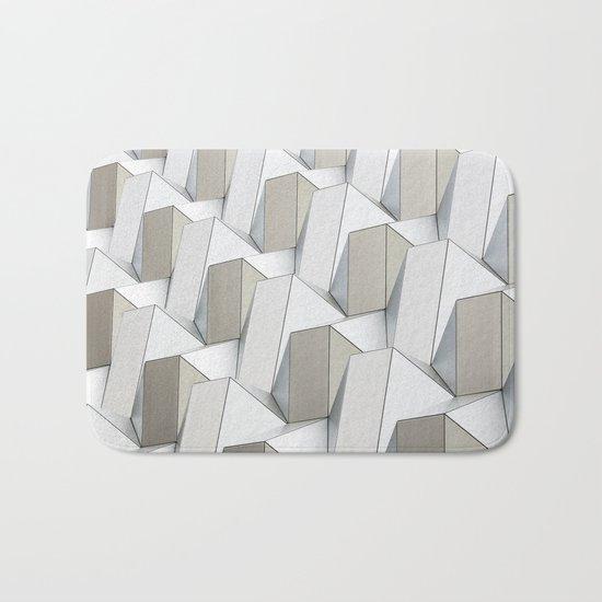 Pattern cubism Bath Mat