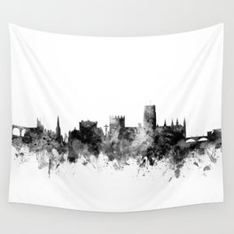 Durham England Skyline Cityscape Wall Tapestry