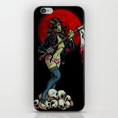 Zombie Girl iPhone Skin