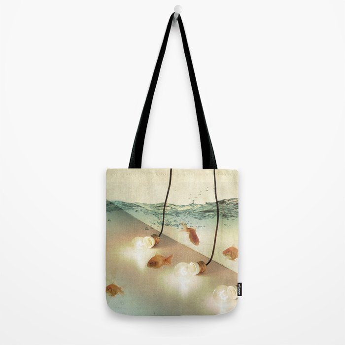 ideas and goldfish Tote Bag