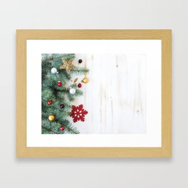Christmas Decoration 01 Framed Art Print