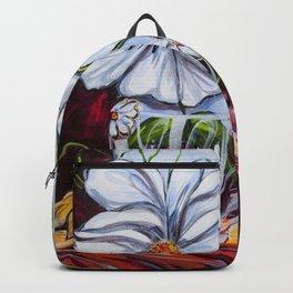 Diane L- Fleurs en coeurs Backpack 490a9de05a4a3