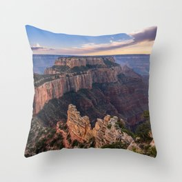 North_Rim Grand_Canyon, AZ - 5 Throw Pillow