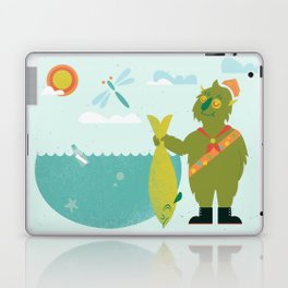 Harold Goes Fishing Laptop & iPad Skin