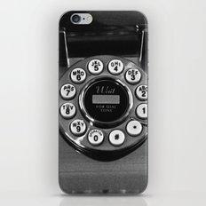Rotary Phone iPhone & iPod Skin