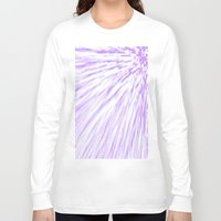lavender Long Sleeve T-shirts featuring Lavender. by SimplyChic