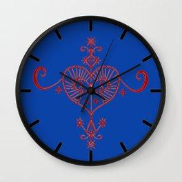 Voodoo Symbol Erzulie Wall Clock