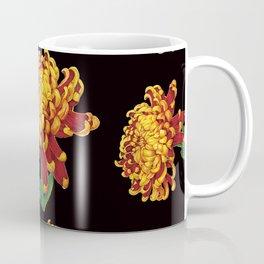 Floral Theme- Chrysanthemum Watercolor Painting Coffee Mug
