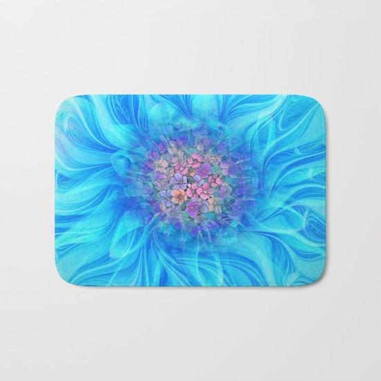 Fractal Flower 2 Bath Mat