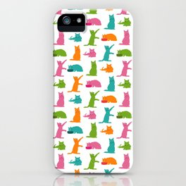 Cats Multicolor iPhone Case