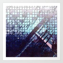 (De)Fluo-Novo Art Print