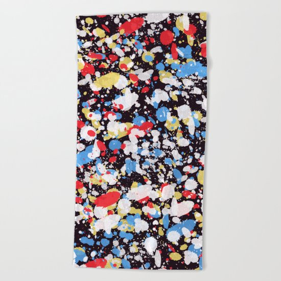 Abstract 35 Beach Towel