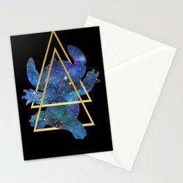 Galaxy Stitch Stationery Cards