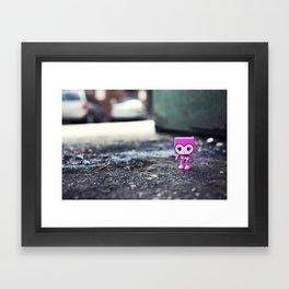i brings the beauty Framed Art Print
