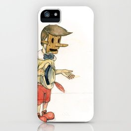 With all good intentions iPhone Case